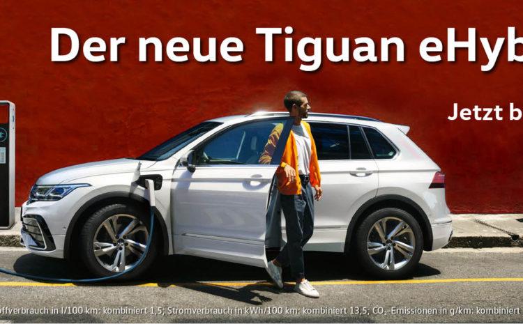 Der neue Tiguan eHybrid