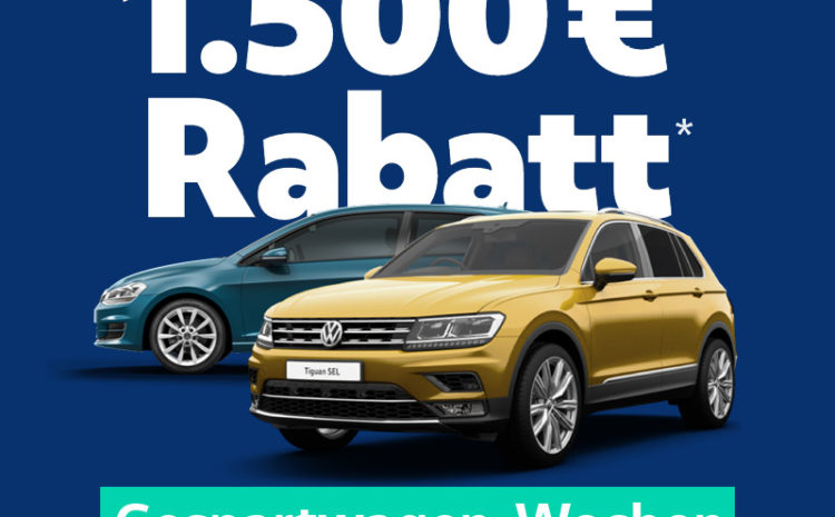 heycar Gespartwagen-Wochen